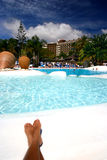 Pool relaxation Royalty Free Stock Images