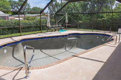 Pool Remodel Bond Coat Royalty Free Stock Photo