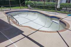 Pool remodel work in progress Stock Photography