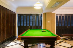 Pool room Royalty Free Stock Photos