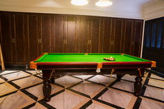 Pool room Stock Image