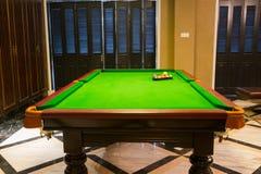 Pool room Royalty Free Stock Photo