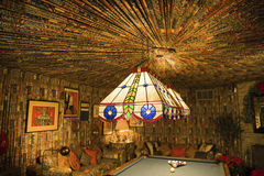 Pool room in Graceland Mansion Stock Image
