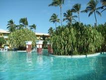 Pool scenery Stock Photo