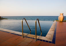 Pool by the sea Stock Images