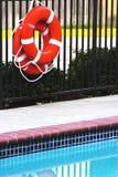 Pool-Seite Stockbild