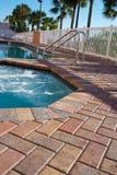 Pool-Seite Lizenzfreies Stockfoto