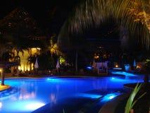 Pool-Seite Stockfoto