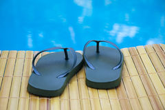 Pool shoes Royalty Free Stock Image