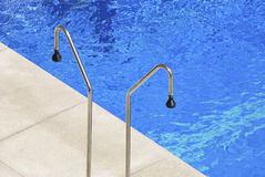 Pool Showers Royalty Free Stock Photo