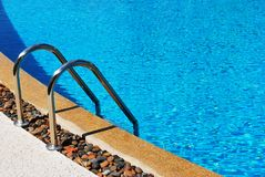 Pool side Royalty Free Stock Photo