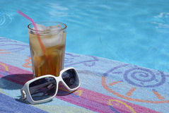 Pool-Side Royalty Free Stock Images