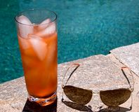 Pool Side Aviator Stock Image