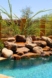 Pool side Stock Image