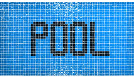 Pool sign Stock Photography
