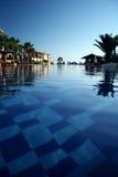 pool simning Fotografering för Bildbyråer