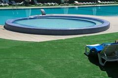 pool simning royaltyfria foton