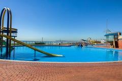 Pool Slide Beach Royalty Free Stock Photos