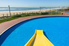 Pool Slide Beach Stock Photo