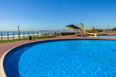 Pool Slide Beach Stock Image