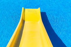 Pool Slide Royalty Free Stock Photos