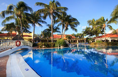 Pool in Sol Cayo Guillermo. Hotel. Cuba Stock Image