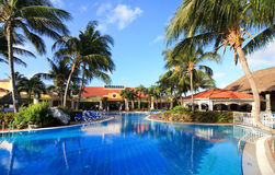 Pool in Sol Cayo Guillermo. Hotel. Cuba Stock Images