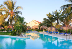 Pool in Sol Cayo Largo. Pool in hotel Sol Cayo Largo. Cuba Royalty Free Stock Photo