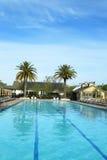 Pool at Solage Calistoga Resort in Calistoga, California Stock Photos