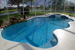 pool spa κολύμβηση Στοκ Φωτογραφία