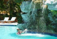 Pool-Spaß Lizenzfreie Stockfotos