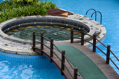 Pool, spa Stock Images