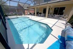 Pool, Spa and Lanai Royalty Free Stock Images
