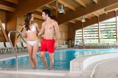 pool spa wellness Στοκ φωτογραφία με δικαίωμα ελεύθερης χρήσης