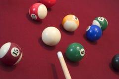Pool-Spiel Stockbild