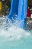 Pool Splash. Splashing in the swimming pool Royalty Free Stock Image