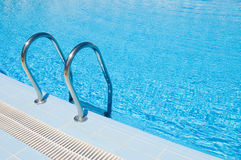 Pool with stair Royalty Free Stock Images