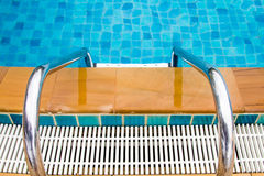Pool Stairs Royalty Free Stock Photos