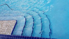 Pool steps Stock Images
