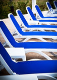 Pool-Stühle Lizenzfreie Stockbilder