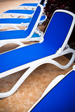 Pool-Stühle Lizenzfreies Stockbild