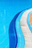 Pool on a sunny day Royalty Free Stock Photography