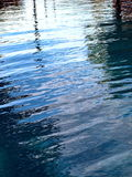 Pool Surface Ripple. Reflective water Ripple on swimming Pool Surface stock photo