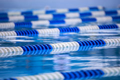 Pool Swim Lanes Stock Images