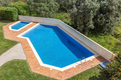 Pool for swimming outdoors. Stock Photography