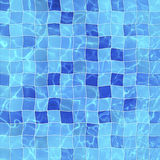 Pool swimming, top view Royalty Free Stock Image