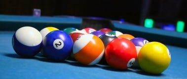 Pool-Tabelle Lizenzfreies Stockbild