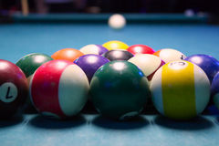 Pool-Tabelle Lizenzfreie Stockbilder