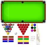 Pool-Tabelle Lizenzfreie Stockfotografie