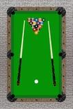 Pool-Tabelle Lizenzfreies Stockfoto